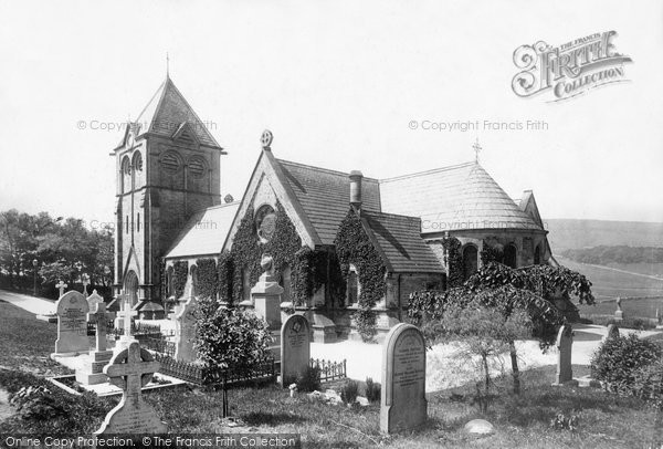 Burbage, Christ Church 1896