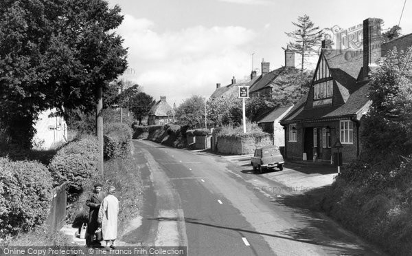 Burbage, High Street 1962