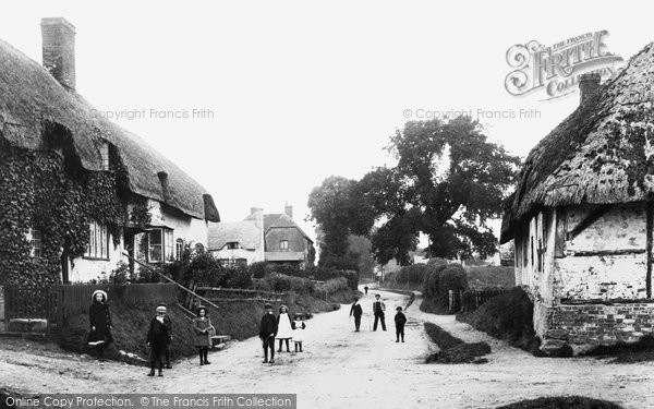 Burbage, The Village 1907