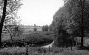 Bures, A Peaceful River Scene c.1955