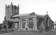 Bures, St Mary's Church c.1955