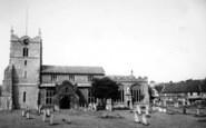 Bures, The Church c.1960