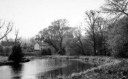 Bures, The River c.1960