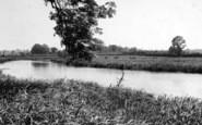 Bures, The River Stour c.1955