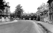 Burford, Bridge Approach c.1960