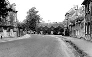 Burford, Bridge Approach c.1965