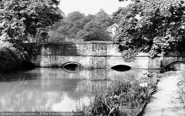 Burford, Bridge c.1955