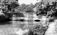 Burford, Bridge c.1955