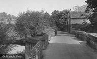Burford, Burford Bridge c.1955