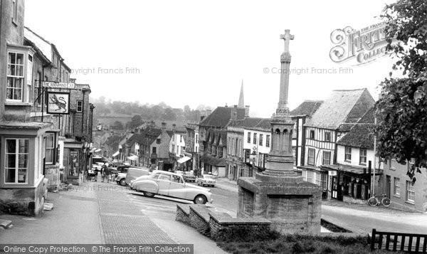 Burford, High Street c.1965