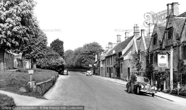Burford, Sheep Street c.1950