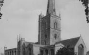 Burford, St John's Church c.1955