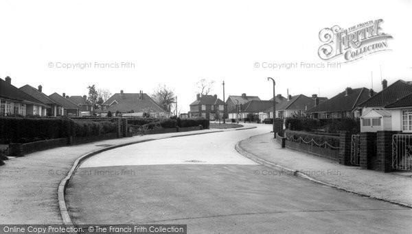 Burgess Hill, Blackhouse Lane c.1965