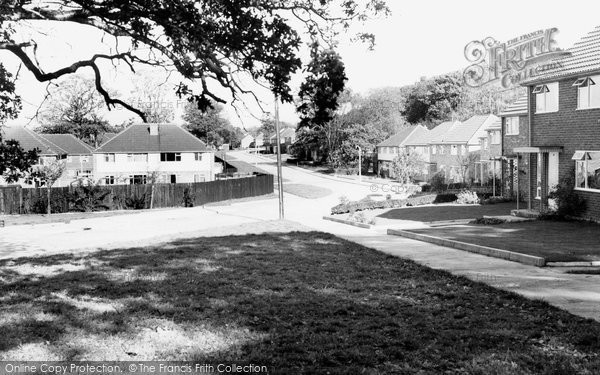Burgess Hill, Chanctonbury Road c.1960
