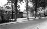 Burgess Hill, Church Hall And Vicarage c.1965