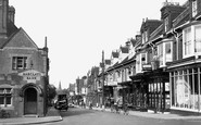 Burgess Hill, Church Road 1950