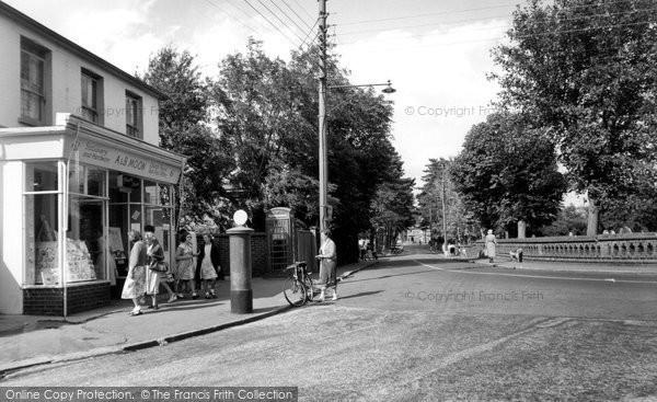 Burgess Hill, Church Road c.1955