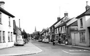 Burgess Hill, Church Road c.1960