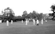 Burgess Hill, Cricket On The Green c.1960