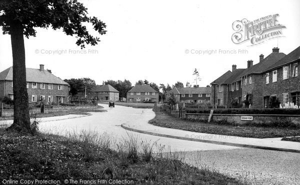 Burgess Hill, Denham Road c.1955