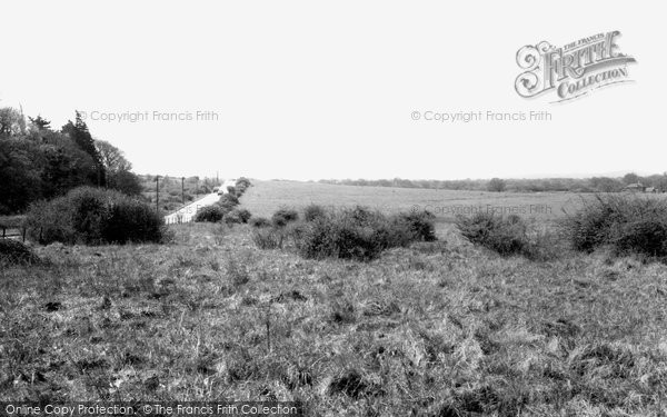 Burgess Hill, Ditchling Common c.1965