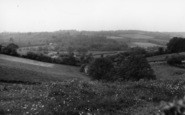 Burgess Hill, General View c.1960
