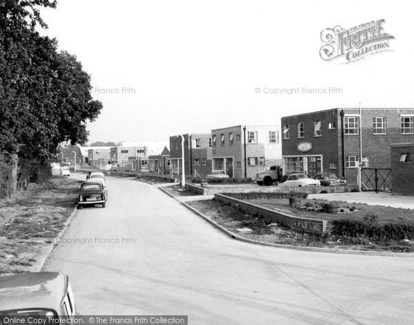 Burgess Hill, Industrial Site c.1960