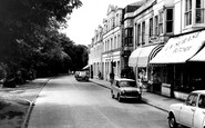 Burgess Hill, Junction Road c1965