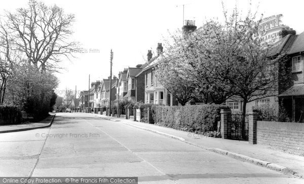 Burgess Hill, Junction Road c.1965