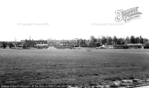 Burgess Hill, Junction Road School And Recreation Ground c.1965