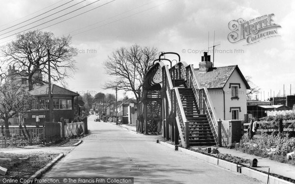 Photo of Burgess Hill, Keymer Crossing 1966