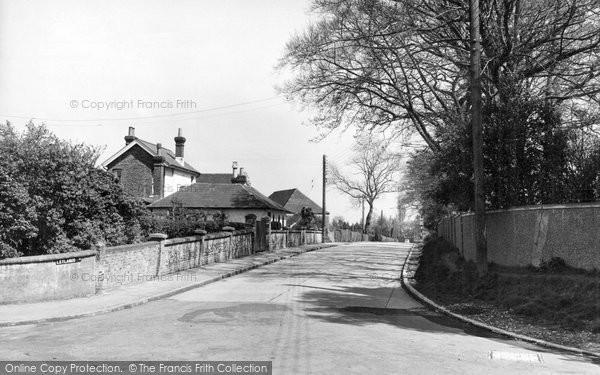 Burgess Hill, Leylands Road c.1955