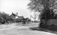 Burgess Hill, Leylands Road c.1955