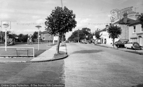 Burgess Hill, London Road c.1960