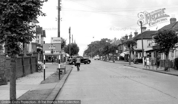 Burgess Hill, London Road c.1960