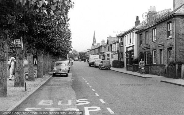 Burgess Hill, Lower Church Road c.1960