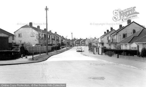 Photo of Burgess Hill, Noel Rise c1965