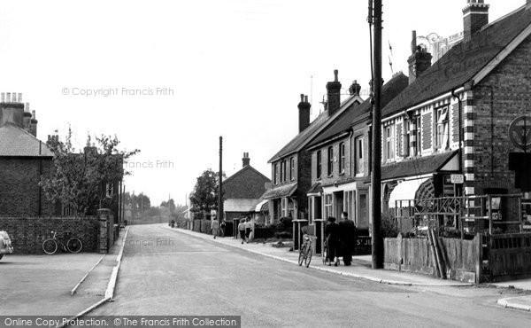 Burgess Hill, Royal George Road c.1960
