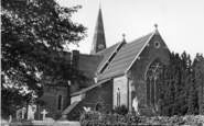Burgess Hill, St John's Church c.1950