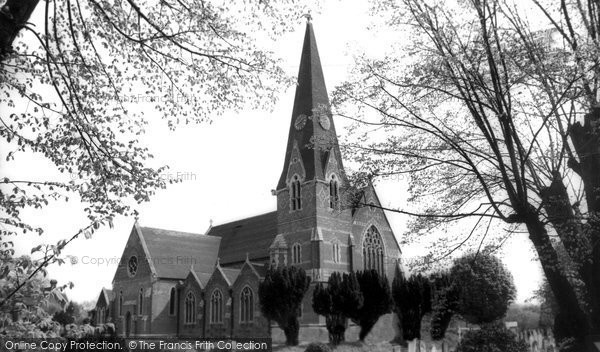 Burgess Hill, St John's Church c.1965
