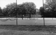 Burgess Hill, St John's Park Tennis Courts c.1960