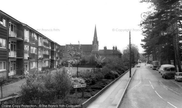 Burgess Hill, St John's Road c.1965
