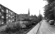 Burgess Hill, St Johns Road c.1965