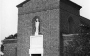 Burgess Hill, St Wilfrid's Roman Catholic Church 1950