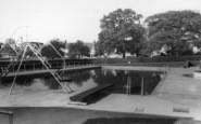 Burgess Hill, Swimming Pool, St John's Park c.1965