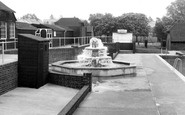 Burgess Hill, The Fountain, St John's Park c.1960