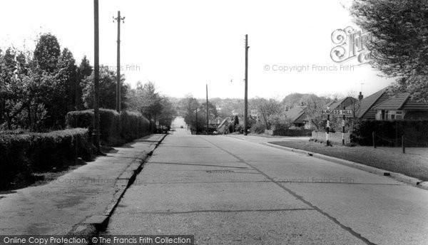 Burgess Hill, Valebridge Road c.1965