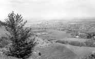 Burgess Hill, View From Ditchling Common c.1965