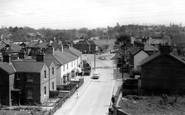 Burgess Hill, Worlds End from Station c1965