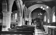Burgh-By-Sands, Church Interior c.1935